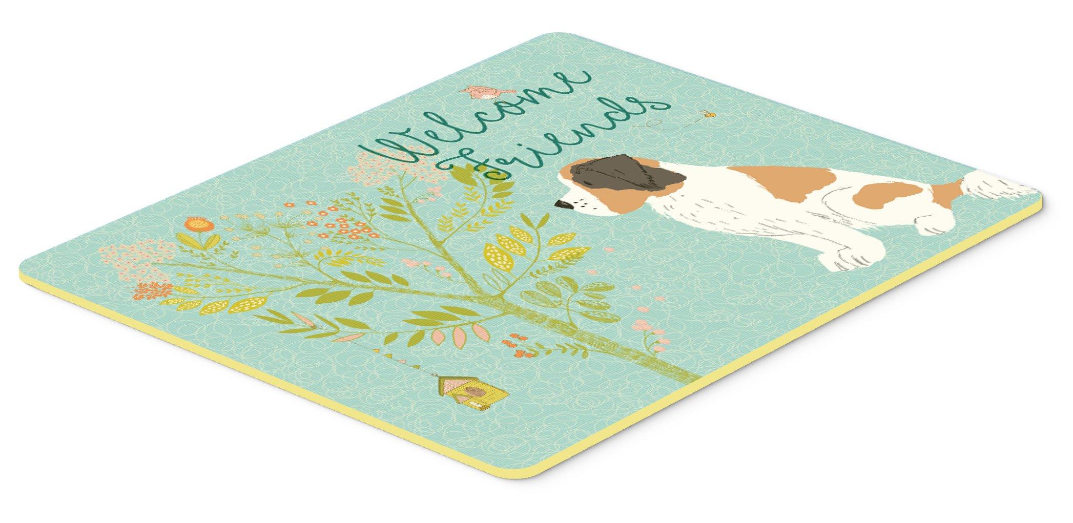 Carolines Treasures BB7381CMT Rhinoceros Watercolor Kitchen Mat 20H x 30W Multicolor