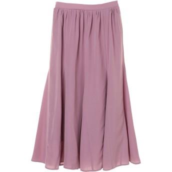 【6,000円(税込)以上のお買物で全国送料無料。】切替フレアスカート