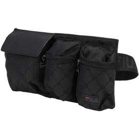 《期間限定セール開催中!》FILA HERITAGE Unisex バックパック&ヒップバッグ ブラック ポリウレタン 100% WAIST BAG NEW TWIST