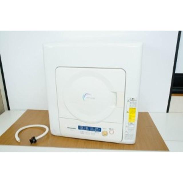 【中古】Panasonicパナソニック 電気衣類乾燥機 4.0kg NH-D402P-W