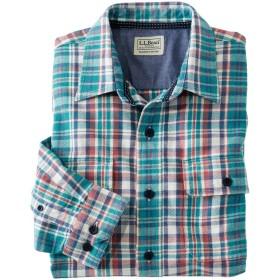 ノースウッズ・ツイル・シャツ、スライトリー・フィット 長袖 プラッド/Northwoods Twill Shirt, Long Sleeve Slightly Fitted Plaid