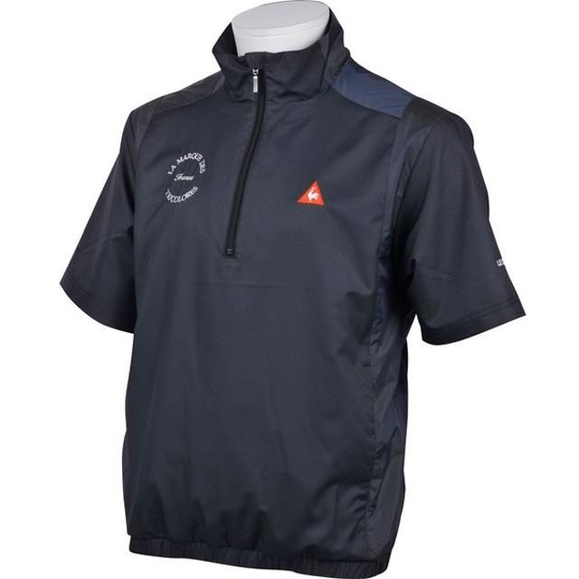 lecoq sportif(ルコック) QGMLJK50 メンズ ゴルフウェア 半袖ブルゾン ウィンドジャケット