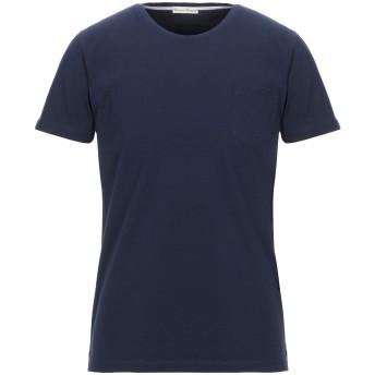 《セール開催中》CASHMERE COMPANY メンズ T シャツ ダークブルー 48 コットン 100%
