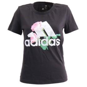 アディダス(adidas) MH ビッグロゴ フラワー Tシャツ FYM88-ED6160 (Lady's)
