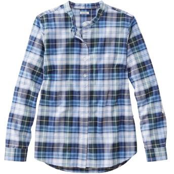 レイクウォッシュ・オーガニック・コットン・オックスフォード・シャツ、ロール・タブ プラッド/Lakewashed Organic Cotton Oxford Shirt, Roll Tab Plaid