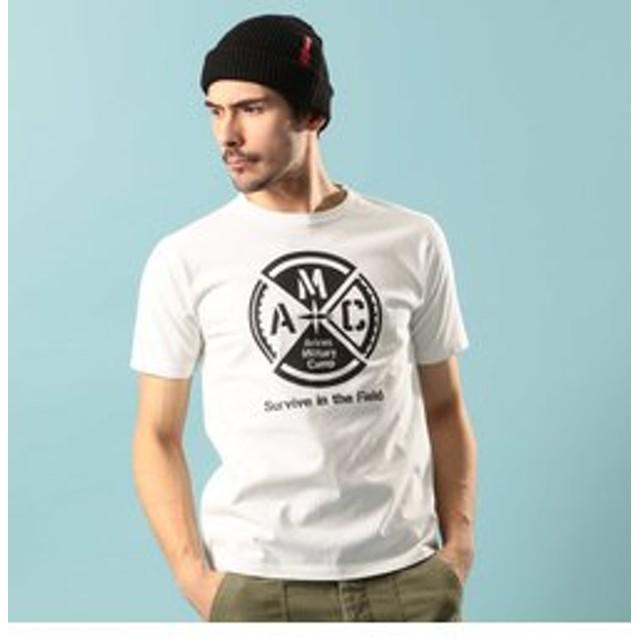 【AVIREX:トップス】AMC クルーネック Tシャツ/CREW NECK T-SHIRT【Avirex Military Camp】