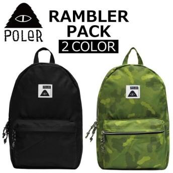 POLER ポーラー RAMBLER PACK ランブラー パック バックパック リュックサック アウトドア 旅行 バッグ メンズ レディース A4 14L 712016