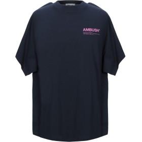 《セール開催中》AMBUSH メンズ T シャツ ダークブルー 1 コットン 100%