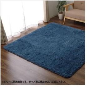 ラグ カーペット 『ミスティ—IT』 ブルー 約200×300cm(ホットカーペット対応) 9811062 (APIs)