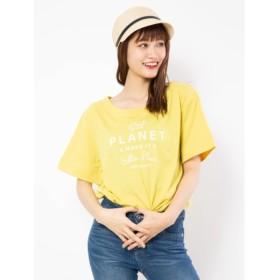 【セシルマクビー/CECIL McBEE】 カラーロゴTシャツ