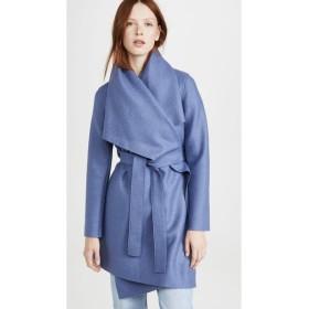 ハリスワーフロンドン Harris Wharf London レディース コート ブランケット アウター Blanket Coat Powder Blue