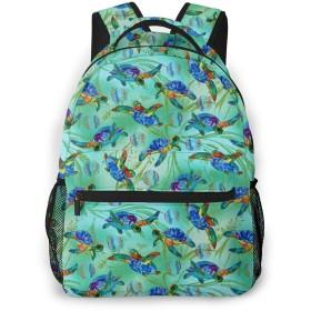 バックパック 海亀 Pcリュック ビジネスリュック バッグ 防水バックパック 多機能 通学 出張 旅行用デイパック