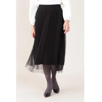 NATURAL BEAUTY / [ドラマ 桜井ユキさん着用]プリーツリバースカート