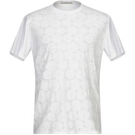 《セール開催中》DIKTAT メンズ T シャツ ホワイト S コットン 95% / 指定外繊維(ヘンプ) 5%