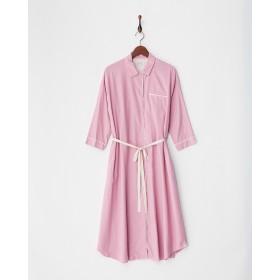 StyleBoatMarket 草木染シャツワンピース|WOMEN○11710111 ピンク ワンピース