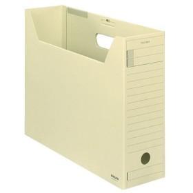 (まとめ)コクヨファイルボックス-FS(Fタイプ) B4ヨコ 背幅102mm 黄 フタ付 B4-LFFN-Y 1セット(5冊) 〔×3セット〕