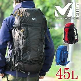ミレー MILLET ザックパック 登山リュック MOUNTAINEERING マウンテニアリング KHUMBU 45 クンブ45 メンズ レディース mis0597