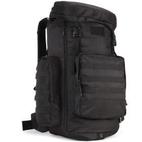 タクティカルバックパック モール対応 ミリタリー リュックサック アウトドア バックパック70L-85L拡張可能 大容量 大型旅行バッグ