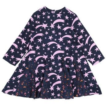 《セール開催中》STELLA McCARTNEY KIDS ガールズ 3-8 歳 ワンピース&ドレス ダークブルー 6 レーヨン 100%