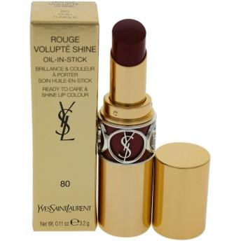 イヴサンローラン Rouge Volupte Shine - # 80 Chili Tunique 4.5g/0.15oz並行輸入品