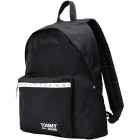 《セール開催中》TOMMY JEANS メンズ バックパック&ヒップバッグ ブラック ポリエステル 100% TJM COOL CITY BACKPA