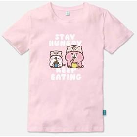 カナヘイの小動物 ウサギとピスケ 台湾限定 t-シャツ 服 Stay Hungry Keep Eating メンズ5色