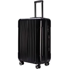 (TTOバリジェリア)TTOvaligeria スーツケース S型機内持ち込み 軽量 TSAロック付 静音 大型(S,ブラック)