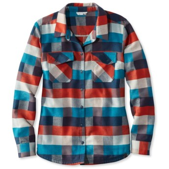 レンジリー・キャンプ・パォーマンス・フランネル・シャツ、チェック/Rangeley Camp Performance Flannel Shirt, Check