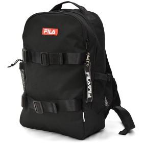 (フィラ) FILA ブランド スケーター デザイン ロゴ リュック リュックサック ブラック