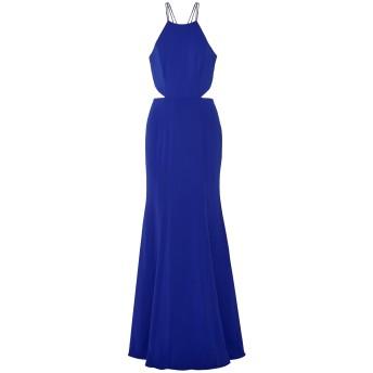 《セール開催中》MARCHESA NOTTE レディース ロングワンピース&ドレス ブライトブルー 8 ポリエステル 92% / ポリウレタン 8%