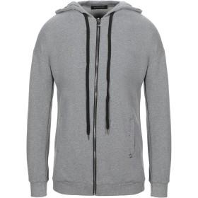 《セール開催中》MANGANO メンズ スウェットシャツ グレー S コットン 100%