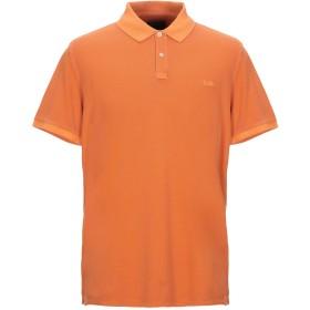 《セール開催中》WOOLRICH メンズ ポロシャツ オレンジ M コットン 95% / ポリウレタン 5%