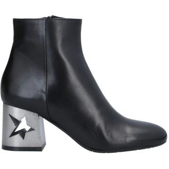 《セール開催中》PLAGE de VILLE レディース ショートブーツ ブラック 35 革