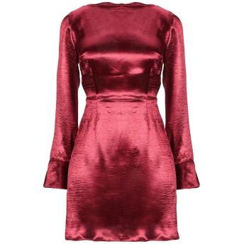 《セール開催中》GLAMOROUS レディース ミニワンピース&ドレス ボルドー 10 ポリエステル 100%