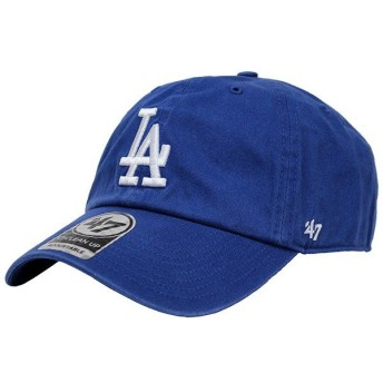 47 Brand フォーティーセブンブランド キャップ 帽子 LOS ANGELES DODGERS CLEAN UP ロサンゼルスドジャース クリーンアップ メンズ B-REBND12GWH-RY
