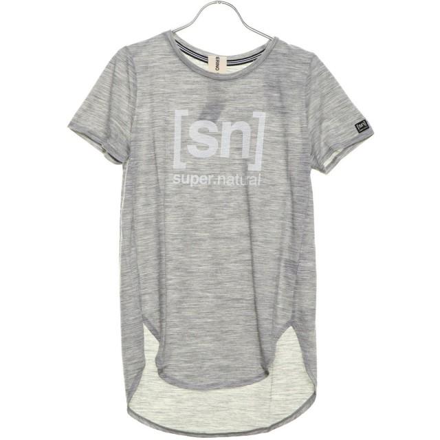 エスエヌスーパーナチュラル sn super. natural レディース フィットネス 半袖Tシャツ W Yoga New Japan Tee Print SNW015203