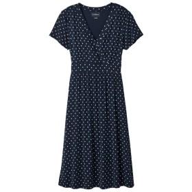 サマー・ニット・ドレス、半袖 プリント/Summer Knit Dress, Short-Sleeve Print