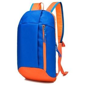 屋外スポーツバックパック、学生のための防水旅行キャンプのバックパックのランドセル (スカイブルー)