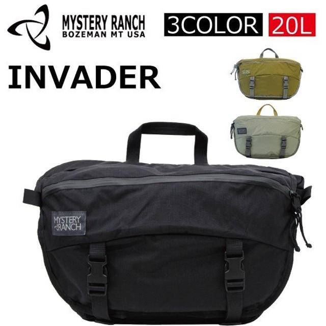 MYSTERY RANCH ミステリーランチ INVADER/インベーダー メッセンジャーバッグ/ショルダーバッグ/カバン/鞄 メンズ/レディース