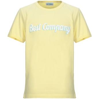 《セール開催中》BEST COMPANY メンズ T シャツ イエロー M コットン 100%