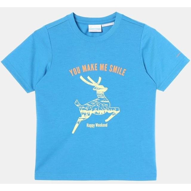 メール便OK Columbia(コロンビア) PY2028 CASS PARK YOUTH ジュニア 半袖Tシャツ アウトドア 子供用