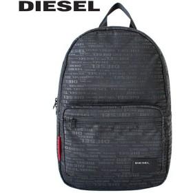 DIESEL ディーゼル F-DISCOVER BACK ディスカバー バックパック リュック リュックサック デイパック メンズ レディース A3 X04812-PR027-H5839 ブラック/レッド