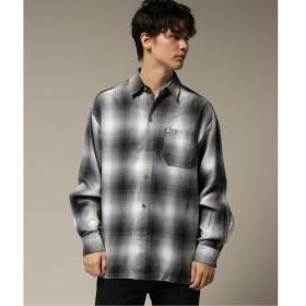 [マルイ] メンズシャツ(【CALTOP / カルトップ】 オンブレ CHECK SHIRTS)/417エディフィス(417 EDIFICE)