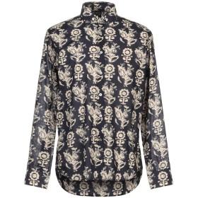 《期間限定セール開催中!》BAGUTTA メンズ シャツ ダークブルー 39 コットン 100%