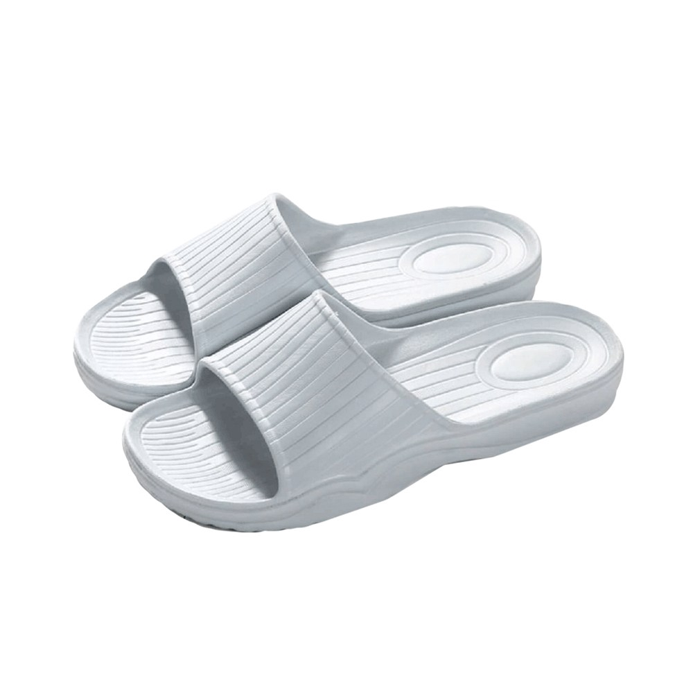 38Q柔軟舒適止滑拖鞋霧深灰27.5
