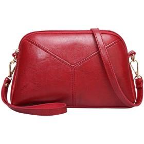 ハンドバッグの女性のバッグデザイナーサッチェル女性のハンドバッグレディースソリッドカラーステッチメッセンジャーバッグ-のトップ、レッド