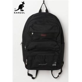 【国内発送】 KANGOL (カンゴール) KGSA-BG00072BACKPACK (バックパック) Black (ブラック)