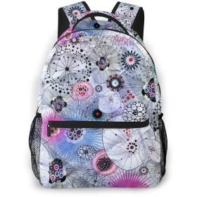 バックパック 幾何学 Pcリュック ビジネスリュック バッグ 防水バックパック 多機能 通学 出張 旅行用デイパック