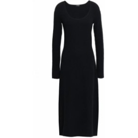 ジョゼフ JOSEPH レディース ワンピース ミドル丈 ワンピース・ドレス wool-blend midi dress Black
