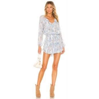 ラブシャックファンシー LoveShackFancy レディース ワンピース ワンピース・ドレス Popover Dress Water Petals